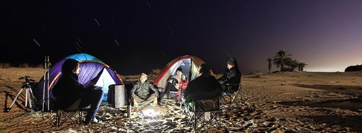 linternas acampada fenix