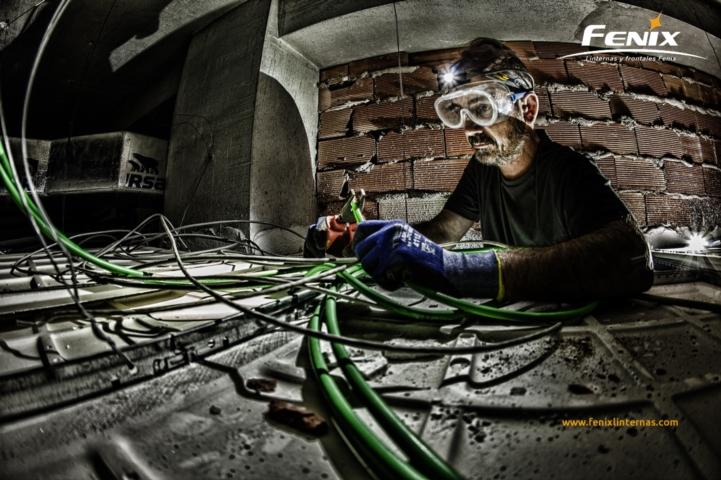 linternas fenix sector industrial