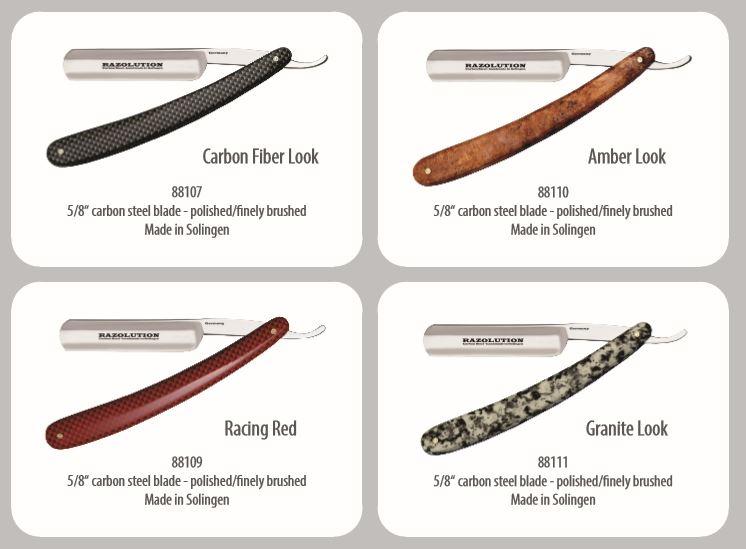 navajas de afeitar hechas a mano de acero alemanas