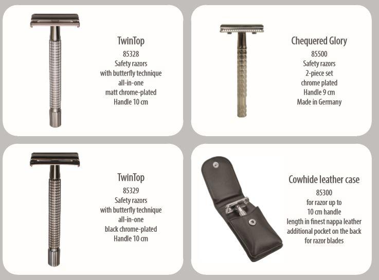 maquinillas de afeitar hechas a mano de acero alemanas