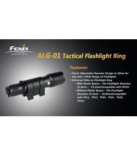 Anillo Ajustable Para Linternas Led Fenix Ref. ALG-01