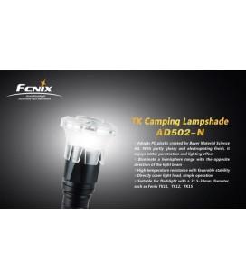 Difusor Tipo Camping Gas Para Linternas Fénix PD40R-V2.0, Tk15-UE, Tk16, TK20R y TK09-N