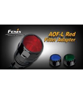 Filtro rojo Para Linternas Led Fénix FD41, RC20 y LD41 REF.AOF-L (RED)
