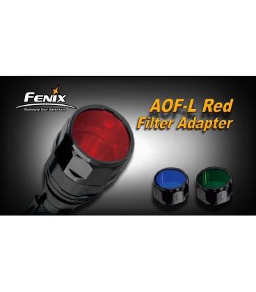 Filtro rojo Para Linternas Led Fénix FD41, RC20 y LD41 REF.AOF-LR