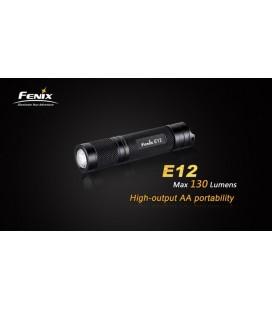 Mini Linterna Led Fénix E12 130 Lumenes Y 3 Modos