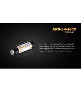 Bateria Recargable Fénix Arb-L4-4800 Alta Calidad Ion-Litio