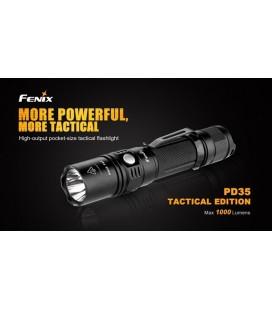 Linterna Led Fénix Pd35 Tac 1000 Lumens Y 6 Modos