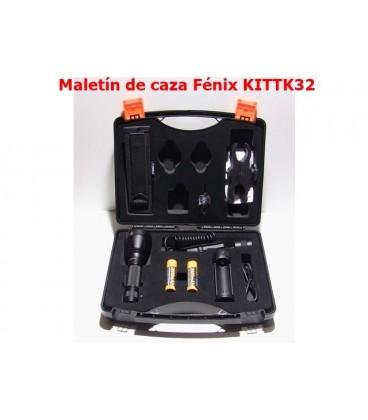 Maletín de caza KIT TK32 1000 Lumens, 4 Modos más rojo, verde