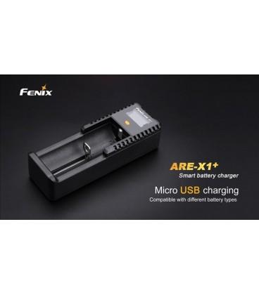 Cargador Fénix de 1 canal para 18650 26650 16340 14500 10440 (ion-litio) Ref. Are-X1+