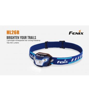 Frontal Led Fénix HL26R 450 Lúmenes (micro usb recargable-incluye batería)