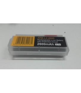 Caja porta baterías 18650