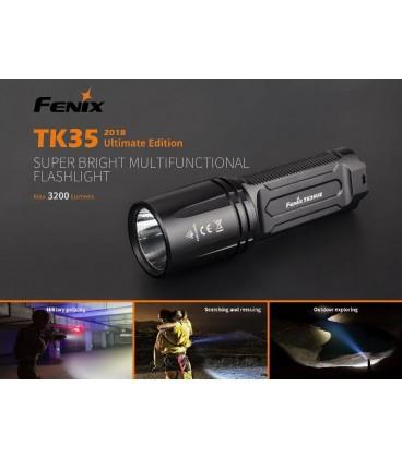 Linterna Fénix TK35 3200 lúmenes recargable