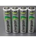 Célula Ni-MH AA Recargable Energizer Precargada-1.2V-2Ah - Embalaje Retractil 4 unidades