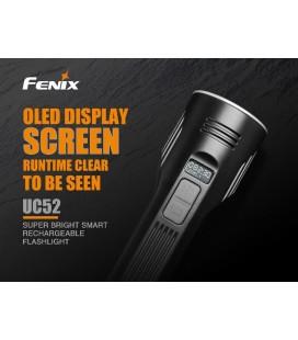 Linterna Fénix UC52 de 3100 lúmenes batería incorporada de 7.2V / 3500mAh