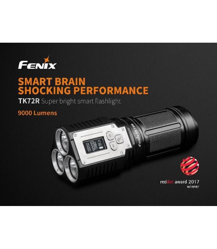 Fenix TK72R cree XHP70 LED Linterna Antorcha 9000lms USB Recargable de búsqueda