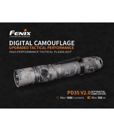Linterna Fénix PD35V2.0 UCP Digital Camo Edition REF. PD35V2.0-CAMO