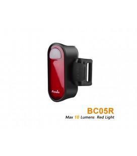 Luz Roja trasera para bici Fénix BC05R. Múltiples aplicaciones.
