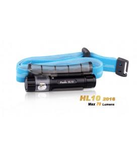 Frontal y linterna HL10 70 lúmenes (3 modos) Tres Color