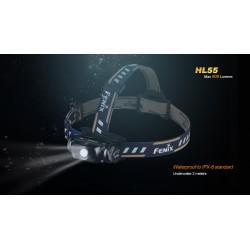 Fontal Fénix HL55 (900 lúmenes) IPX8 (incluye batería 18650)