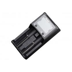 Cargador Fenix ARE-A2 de dos vías digital múltiples baterías