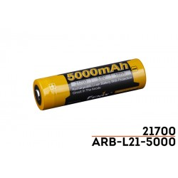 Batería 21700 de Fenix Ref. ARB-L21-5000 (SOLO Para HT18, TK22-UE, TK22-V2.0, TK30R, E35-V30 y PD36R)