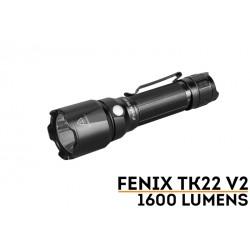 Linterna Fénix TK22 V2.0 1600 Lúmenes y 405 mts (incluye batería ARB-L21-5000U y cable para cargarla)