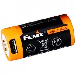 Batería Fenix ARB-L16-700UP (carga por micro USB y también puede en un cargador)