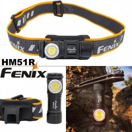 Frontal Fénix HM51R (500 lúmenes) Luz blanca y roja