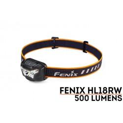 Frontal HL18RW 500 lumenes luz blanca (incluye batería recargable) funciona también con 3xAAA