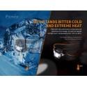 Frontal HL18RW 500 lumenes luz fría (incluye batería recargable)