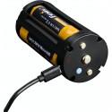 Conjunto portabaterías cargador para TK75-2018 (no incluye baterías ni cable)