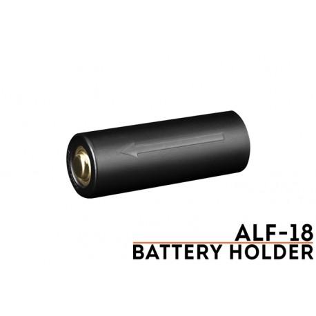 Soporte de batería ALF-18 para 18650 en linternas que utilizan la 21700