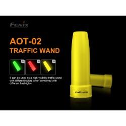 Cono de tráfico amarillo AOT-02-A para TK26R, RC20, TK22-UE, TK22-V2.0, FD41
