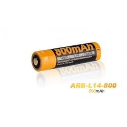Pila 14500 Arb-L14-800 Recargable De Fenix 800 Mah