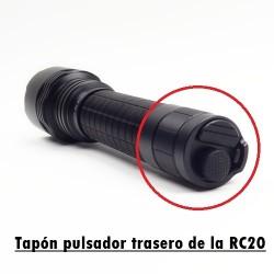 Tapón pulsador trasero de la RC20