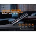 Linterna Fénix LD32 UVC con rayos ultravioleta para desinfección Covid y 1200 lúmenes con batería
