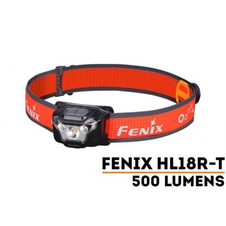 Frontal HL18R-T 500 lumenes para Trailrunning (incluye batería recargable) funciona también con 3xAAA