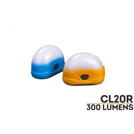 Linterna camping CL20R 300 lúmenes recargable micro USB