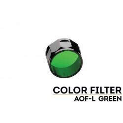 Filtro Grande Verde Para Linternas Led Fénix FD41, RC20 y LD41 REF.AOF-L(Green)