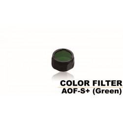 Filtro Pequeño Verde Para Linternas Led Fénix PD32, Uc35, Rc11, Pd35, Ref. AOF-S+(Green)