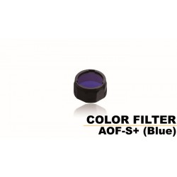 Filtro Pequeño Azul Para Linternas Led Fénix PD32, UC30-2017, Uc35, Rc11, Pd35, Ref. AOF-S+(blue)