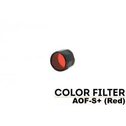 Filtro Pequeño Rojo Para Linternas Led Fénix PD32, Uc35, Rc11, Pd35, Ref. AOF-SR