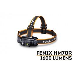 Frontal Fénix HM70R con 1600 Lúmenes Recargable con batería 21700
